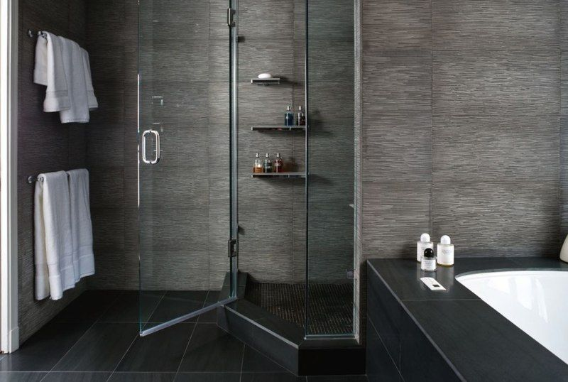 modern small bathroom design with shower modern small bathroom - Shower Design Ideas Small Bathroom