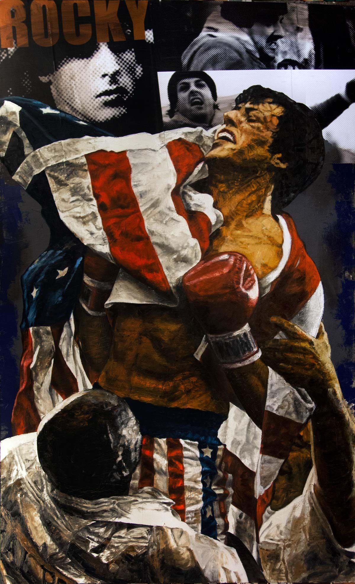 Rocky Harlan Jpg Celebrity Art Holland Art Sports Painting