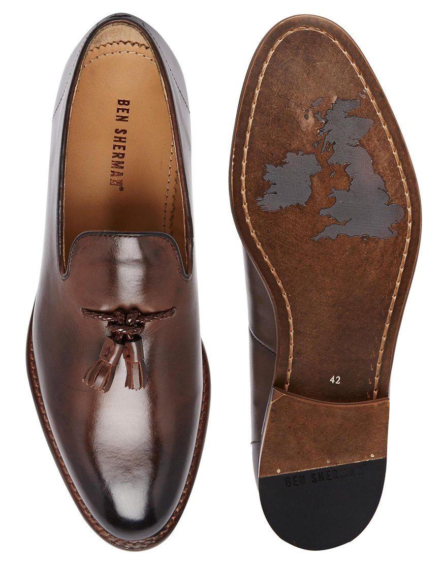 5002d5ac7543 Ben Sherman Tassel Loafers