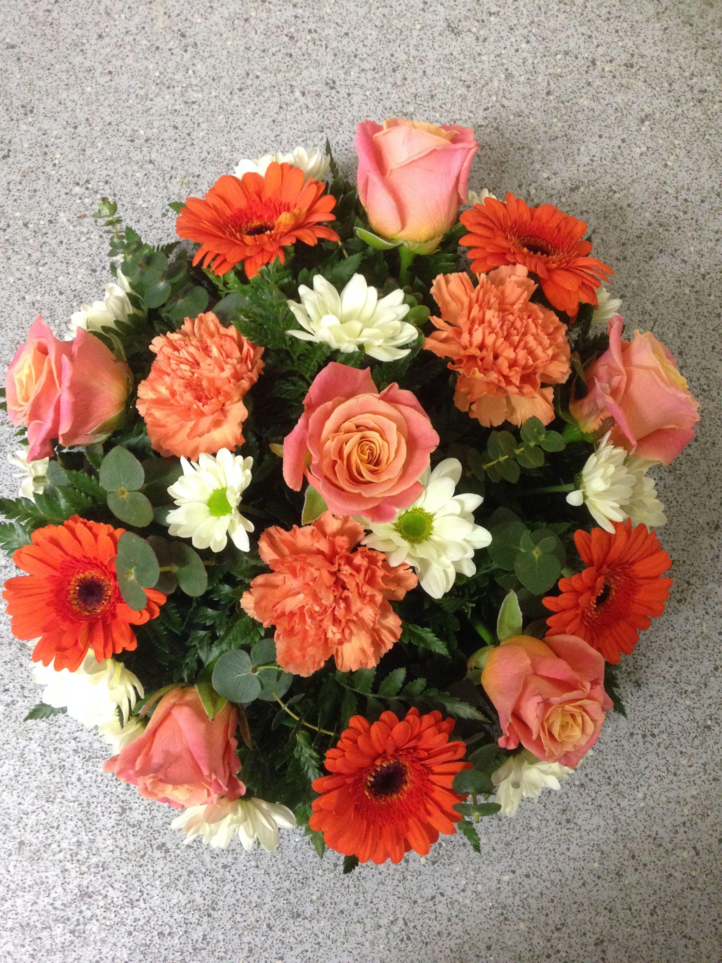 Posy Pad Wreath