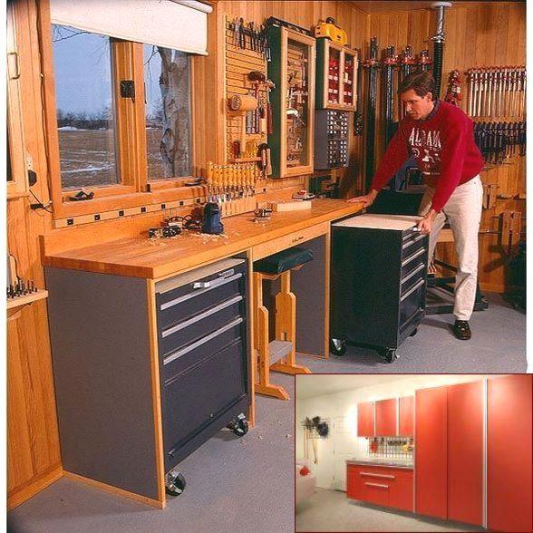 Garage Storage Cubbies And Pics Of Garage Organization