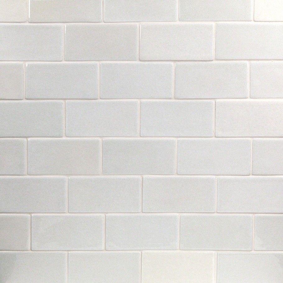 Nabi Glacier White 3x6 Ceramic Tile In 2020 Ceramic Wall Tiles Wall Tiles Ceramic Tiles