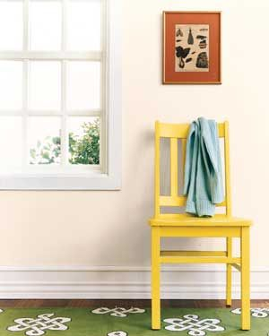 Painted chair - I need to paint ours!