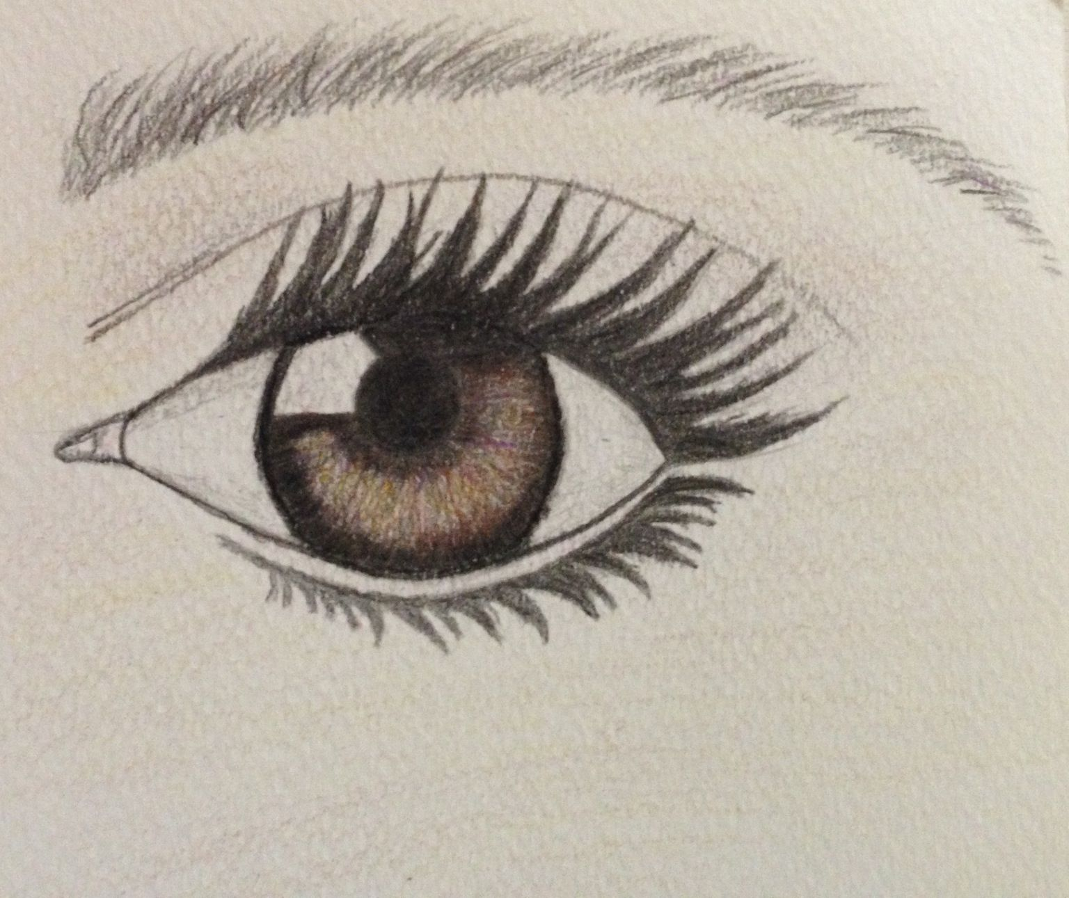 My Eye From The How To Draw An Eye Pin Pretty Neat C R