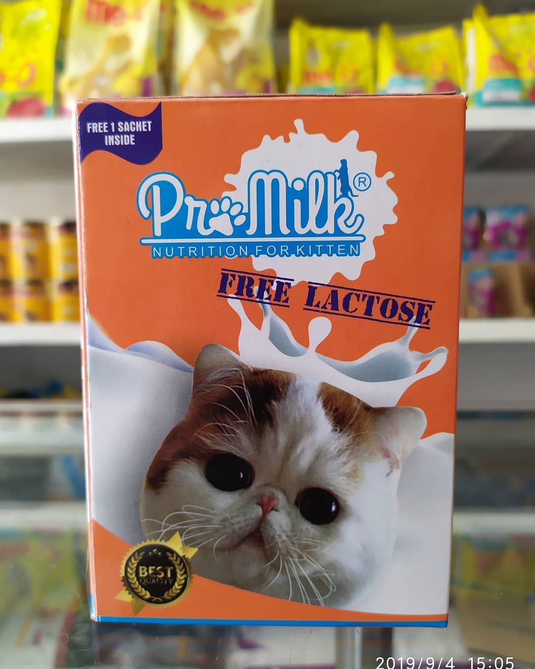 Ready Pro Milk Nutrion For Kitten Open Everyday 08 00 21 00 Wib Grab It Fast Milkcat Catmilk Cat Food Sachet Frosted Flakes Cereal Box
