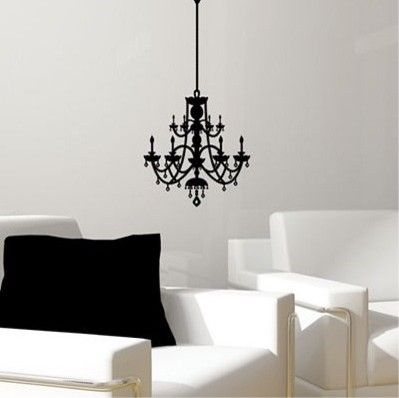 Ordinaire Find This Pin And More On Luxury Furniture. Rhinestone Chandelier Vinyl Wall  Decal ...