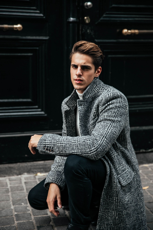 MATTGSTYLE by Matthias Geerts | Wearing FAY coat, FILIPPA K denim, SELECTED HOMME roll neck, ASOS chelsea boots in Antwerp, Belgium