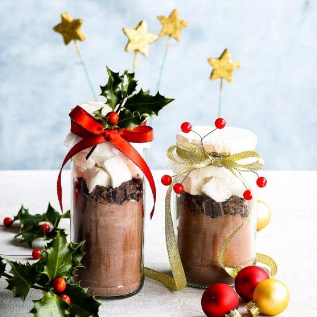 Mason Jar Hot Chocolate. Give The Perfect DIY Christmas
