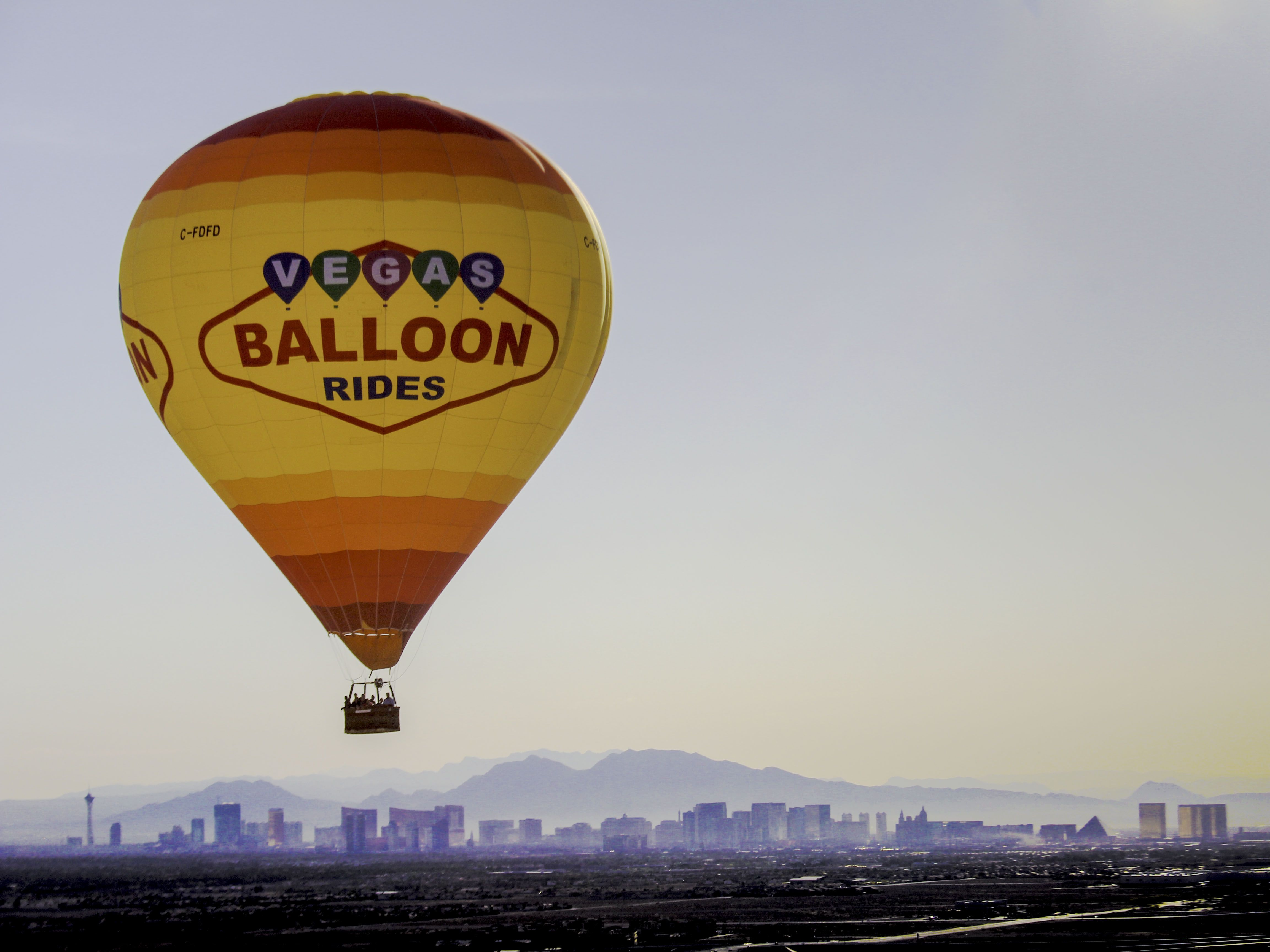 Las Vegas Hot Air Balloon