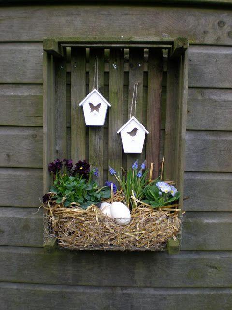 rincones detalles guiños decorativos con toques romanticos - jardines navideos