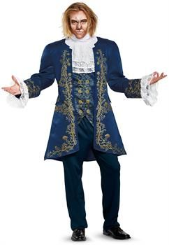 Royal Prince Charming Beauty and the Beast Hommes Adultes Cosplay Costume Noël