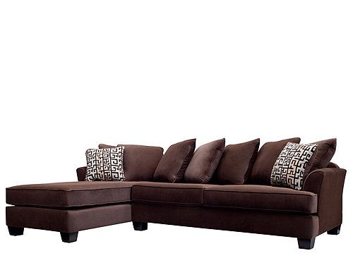 Kathy Ireland Home Ryann 2 Pc Microfiber Sectional Sofa Sectional Sofas Raymour And Flanigan Furniture Sectional Sofa Microfiber Sectional Sofa Sofa
