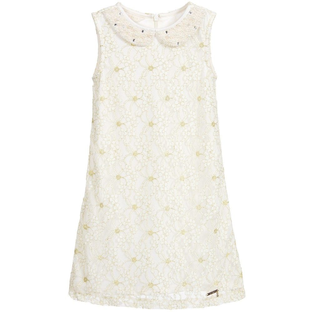 Ivory u gold lace dress gold lace dresses gold lace and ivory