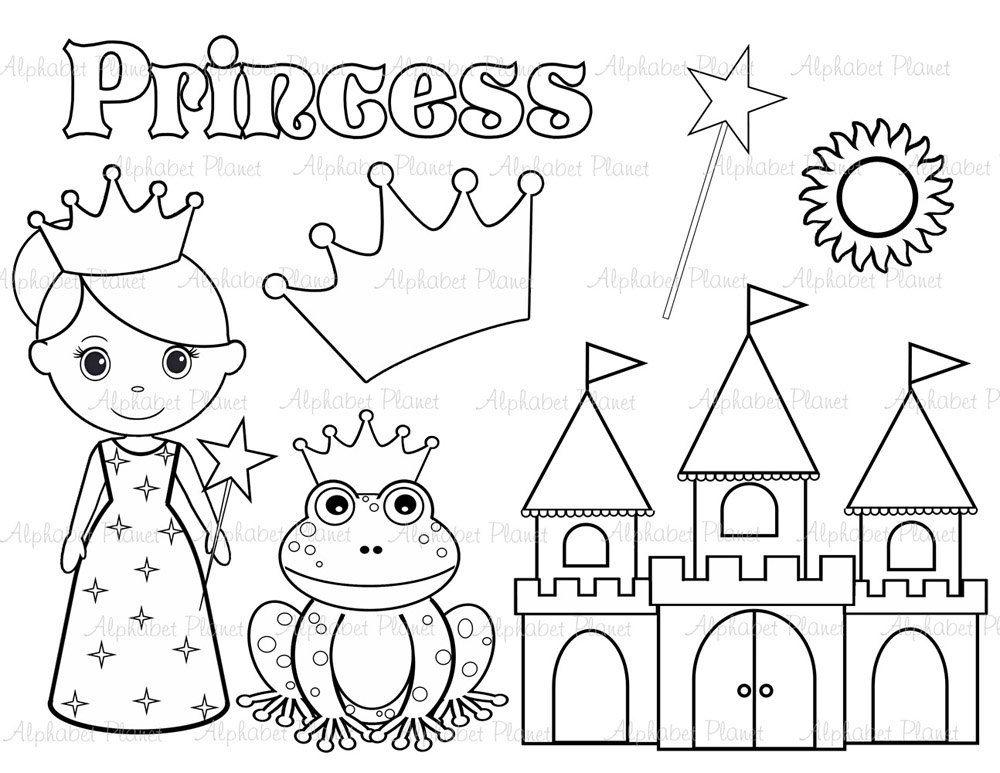 Princess Clip Art Adiestradorescastro Com Clipart Trafarety Kartinki Fetr