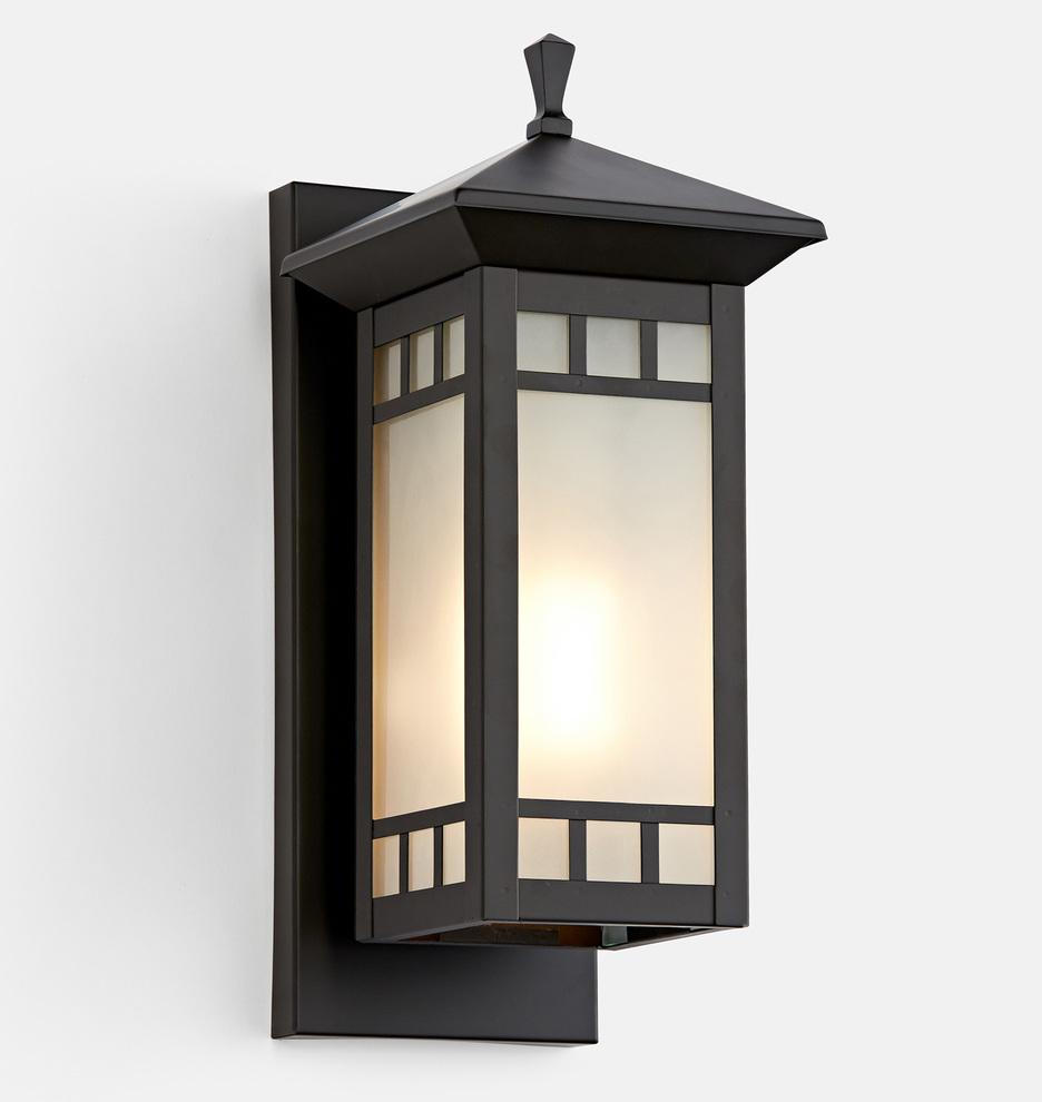 Yukon Art Glass Lantern Sconce Glass Lantern Vintage Light Fixtures Sconces