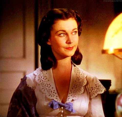 """""""Gone With the Wind"""": Vivien Leigh/Scarlett O'Hara"""