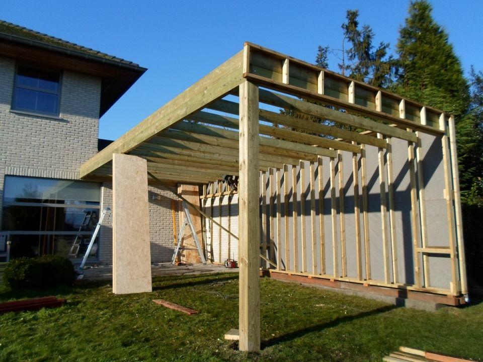 Afbeeldingsresultaat voor tuinhuis plat dak zelf maken tuinontwerp