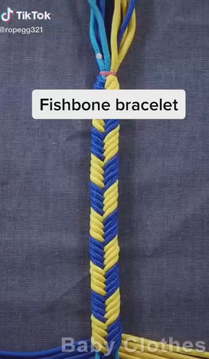Photo of DIY: Bracelet Weaving Technique | Baby Clothes