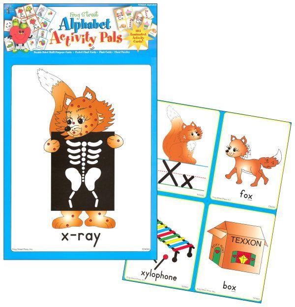 Alphabet Activity Pals (website) Pre-K planning Pinterest