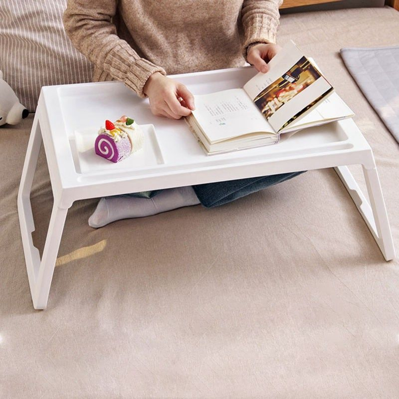Foldable Folding Laptop Table Notebook Desk Sofa Bed Laptop