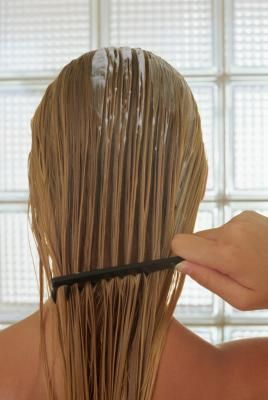 How To Cut A Medium Shag Into Your Own Hair Using A Ponytail On Top