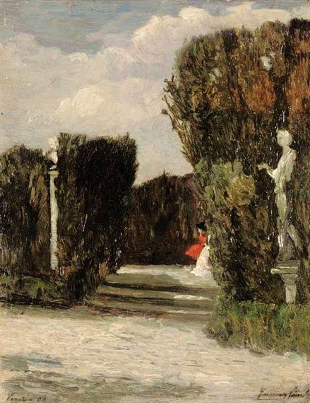 Emma Ciardi (18791933) Italian Impressionist Painter Италия