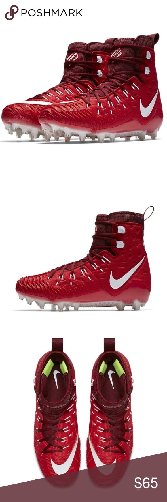 d0111a794b3b NEW Nike Force Savage Elite TD Football Cleats Designed specifically for  linemen, the Nike Force