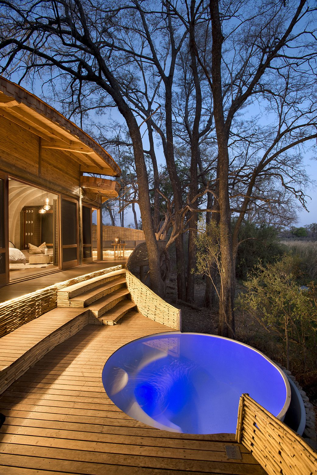 Gallery   Sandibe Okavango Safari Lodge / Nicholas Plewman Architects In  Association With Michaelis Boyd Associates