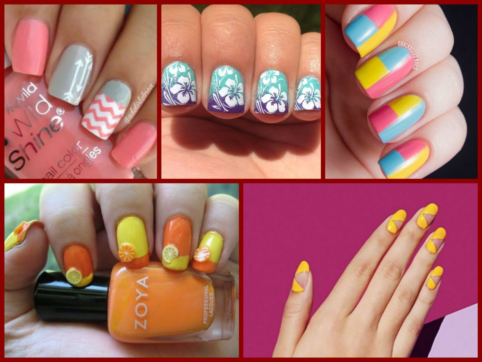 Top-35 Fashion Nail Art for Spring \ Summer 2016 | Candy Painted ...