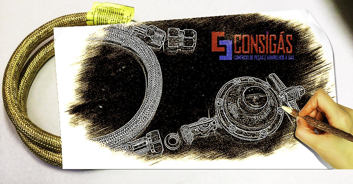 #consigaspecas - Flexível para Fogão e especialidade da www.consigaspecas.com.br