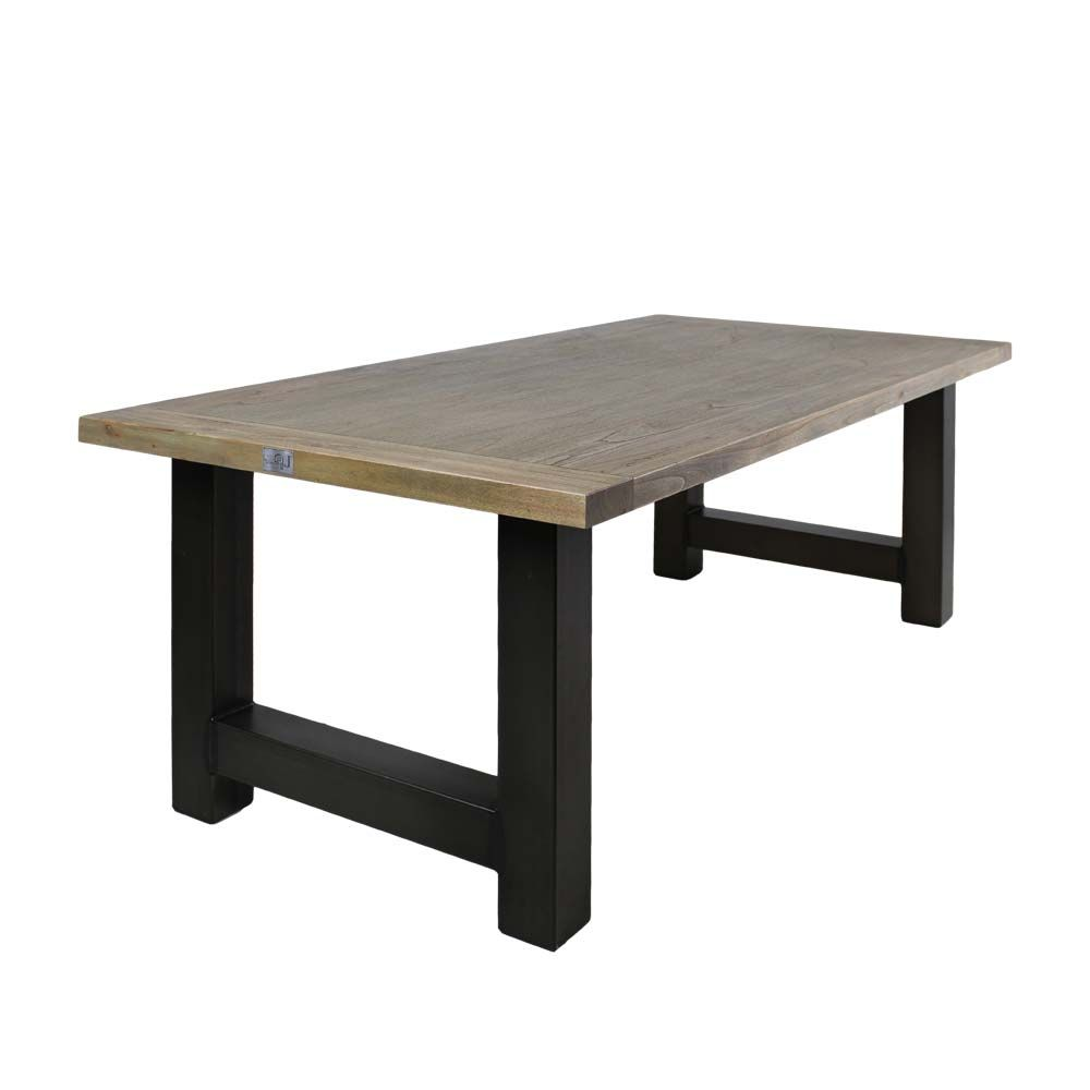 Esstisch Mit Grey Wash Effekt Schwarz Holztisch ,massivholztisch,küchentisch,esszimmertisch,holztisch Massiv