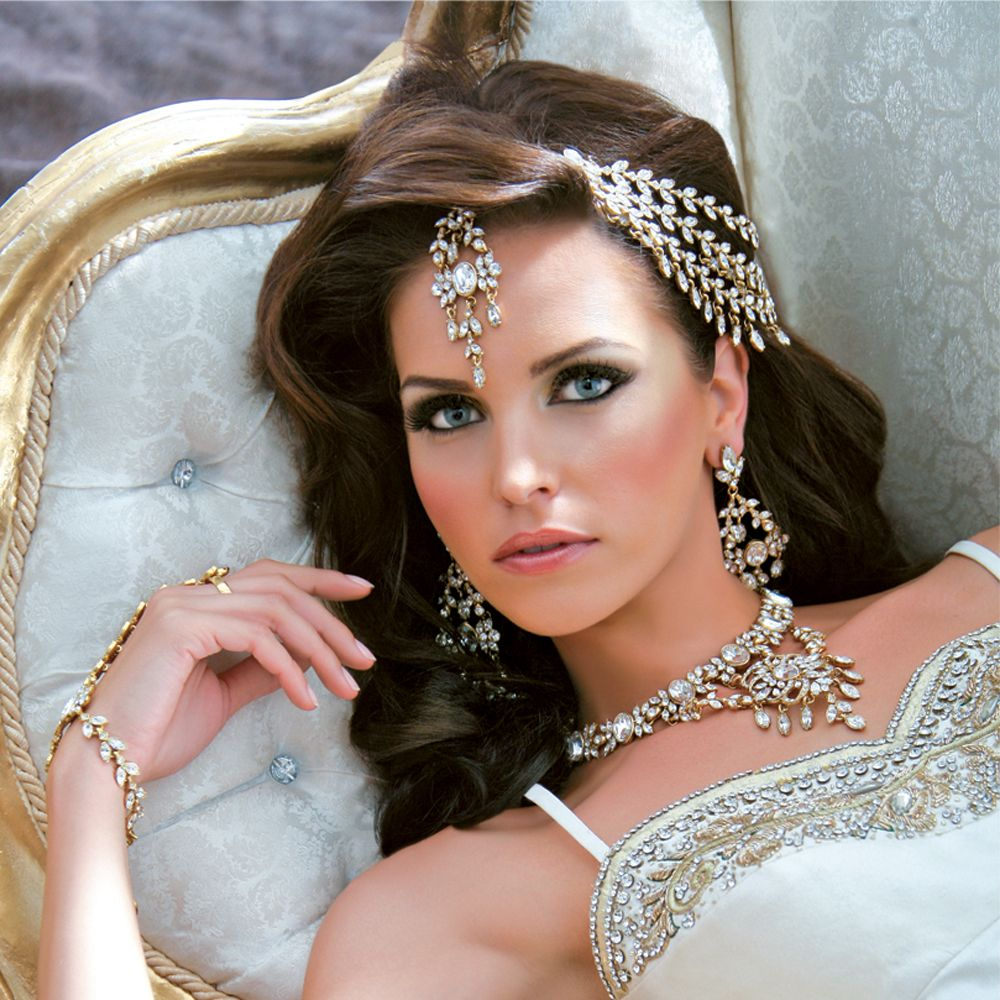 Indian Wedding Headdress: Jewelry I Love This Want My Hair Just Like That