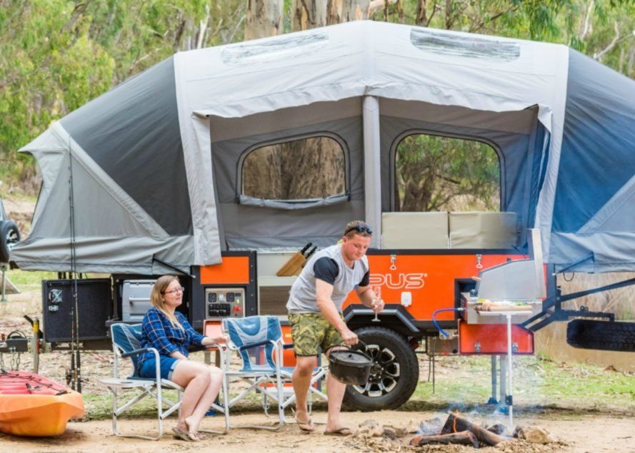 The Air Opus Pop Up Camper Inflates In 90 Seconds Flat Camping
