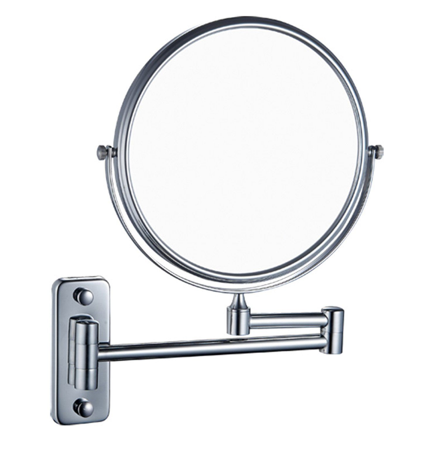 IBeaty Bathroom Mirror 8 inch Wall Mount Makeup Mirror Double-Sided ...