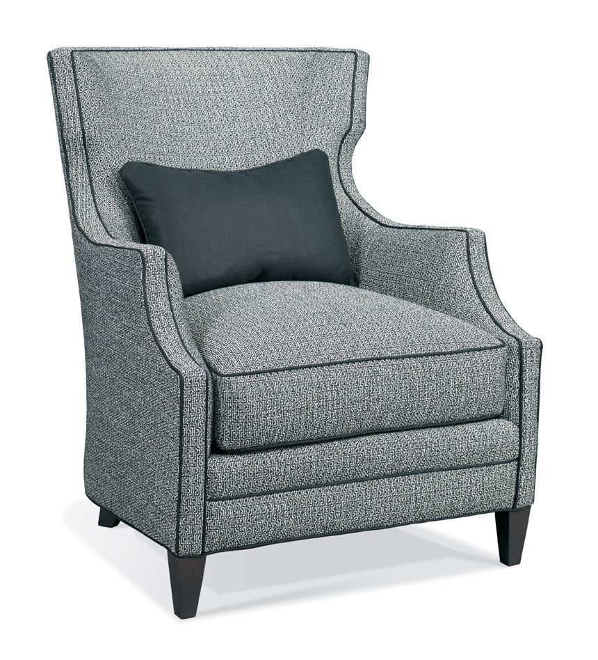Hickory White 4883 01 Wing Chair Buford Hickory