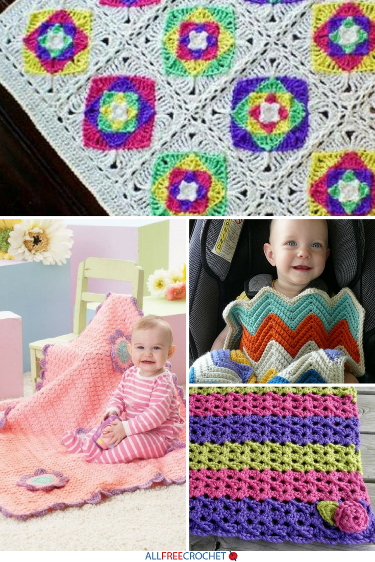 50 Cuddly Crochet Baby Blanket Patterns Crafting And Sewing