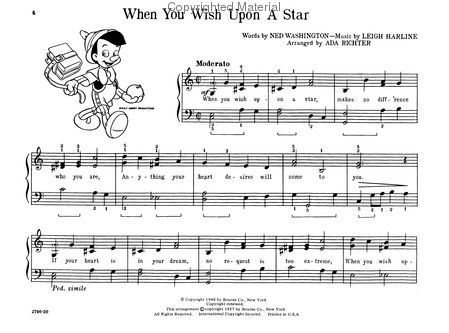Walt Disney Classics Easy Piano With Images Easy Piano Sheet