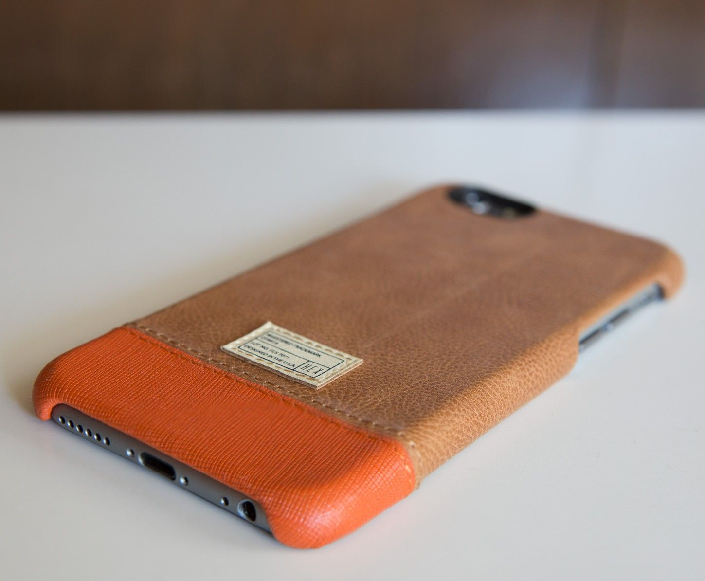 super popular 2a8db a61ad Focus Case for iPhone 6 Brown Leather - iPhone 6 - Cases | HEX ...