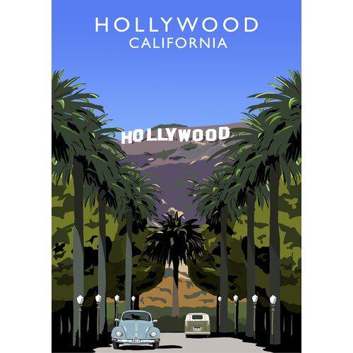 George Oliver Poster Hollywood von Richard O'Neil | Wayfair.de