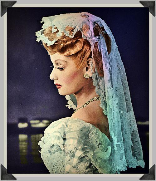 Lucille Ball Wedding Gown