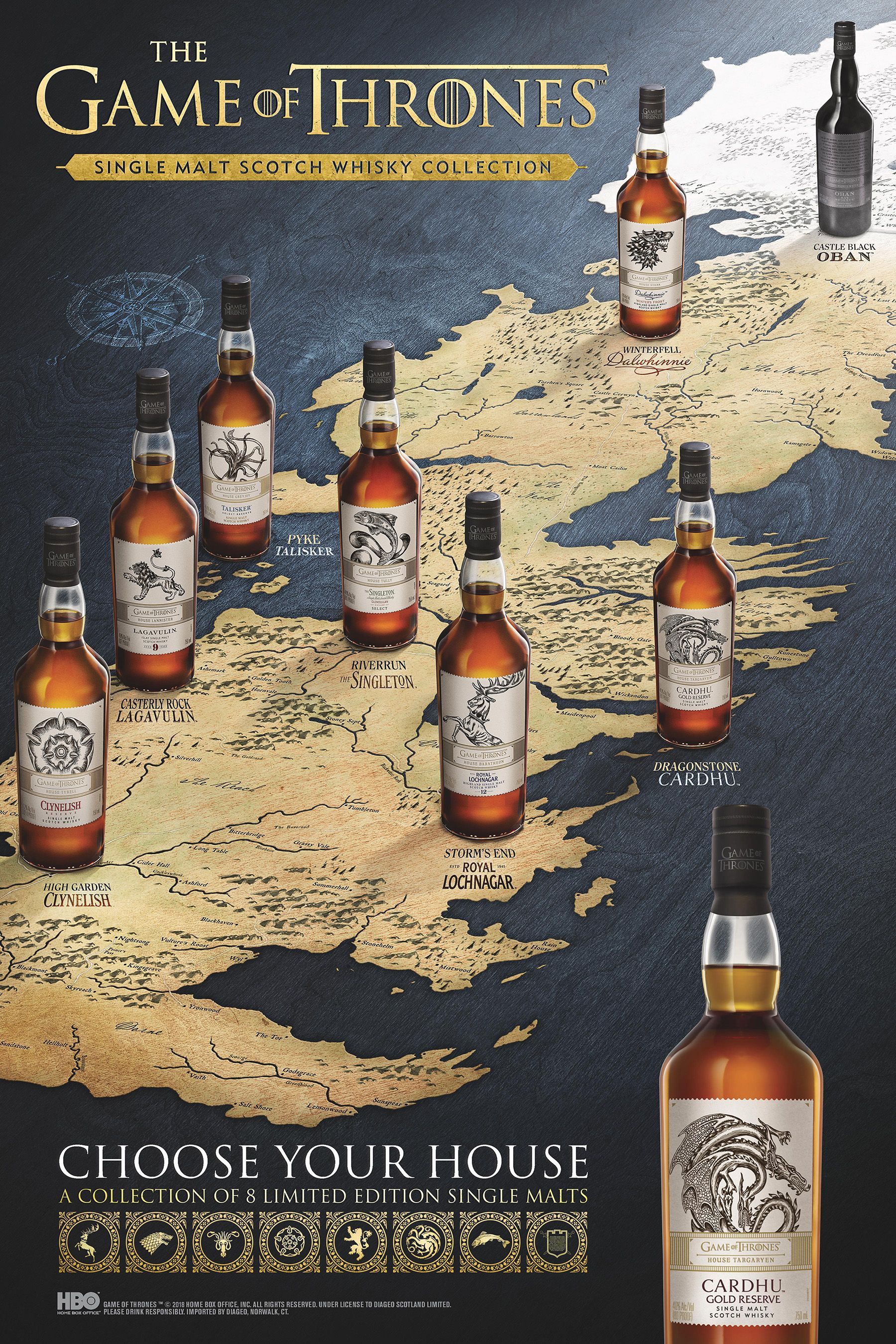 Game of Thrones® Inspired Whisky Is Here In Celebration