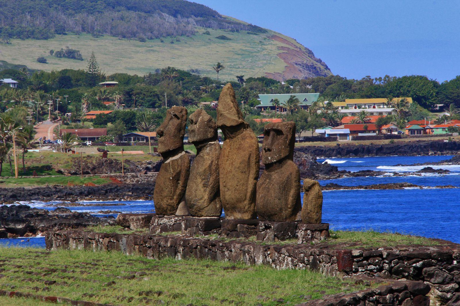 Ahu Tahai / Hanga Roa (Isla de Pascua) | Isla de pascua, Imagenes del  mundo, Islas