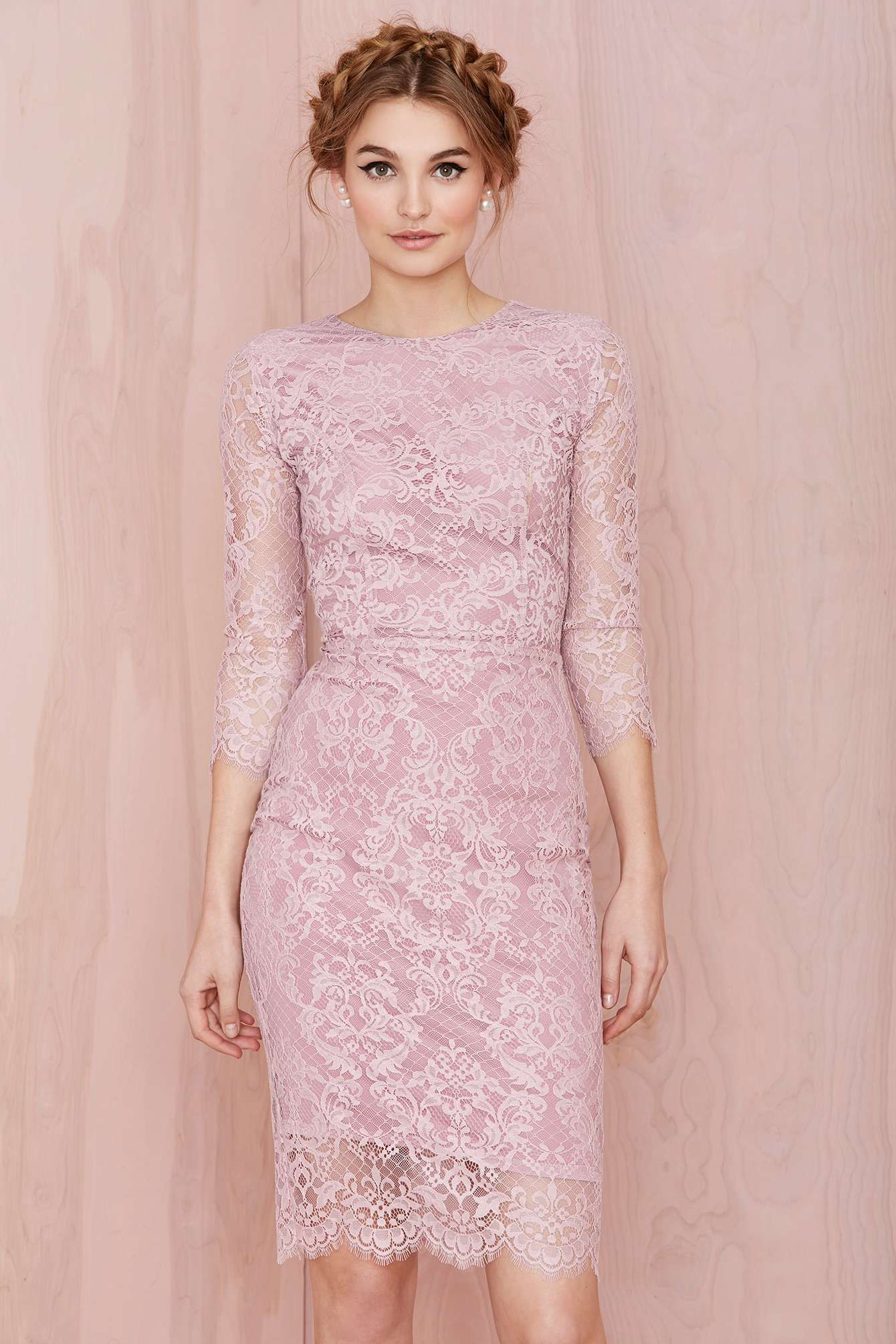pink lace dress | For Love & Lemons | *Dresses & Skirts* | Pinterest ...