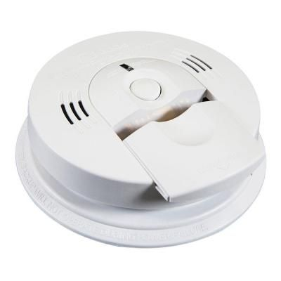 Kidde Intelligent Battery Operated Combination Smoke And Carbon Monoxide Alarm With Voice Alert Kn Cosm Xt Carbon Monoxide Alarms Smoke Alarms Battery Operated