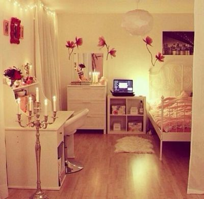 Girly room.