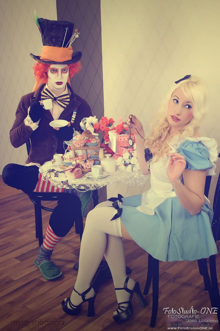 alice and the hatter | Disney Cosplay Magic. | Pinterest
