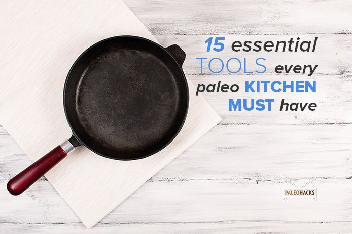 Here are the essential kitchen tools every Paleo foodie should have.