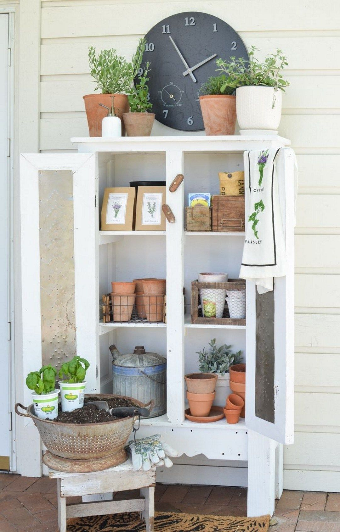 48 diy farmhouse display from old chest of drawers
