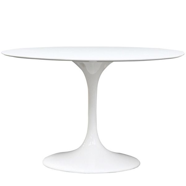 Deals On Dining Tables: Eero Saarinen Style 48-inch White Tulip Dining Table