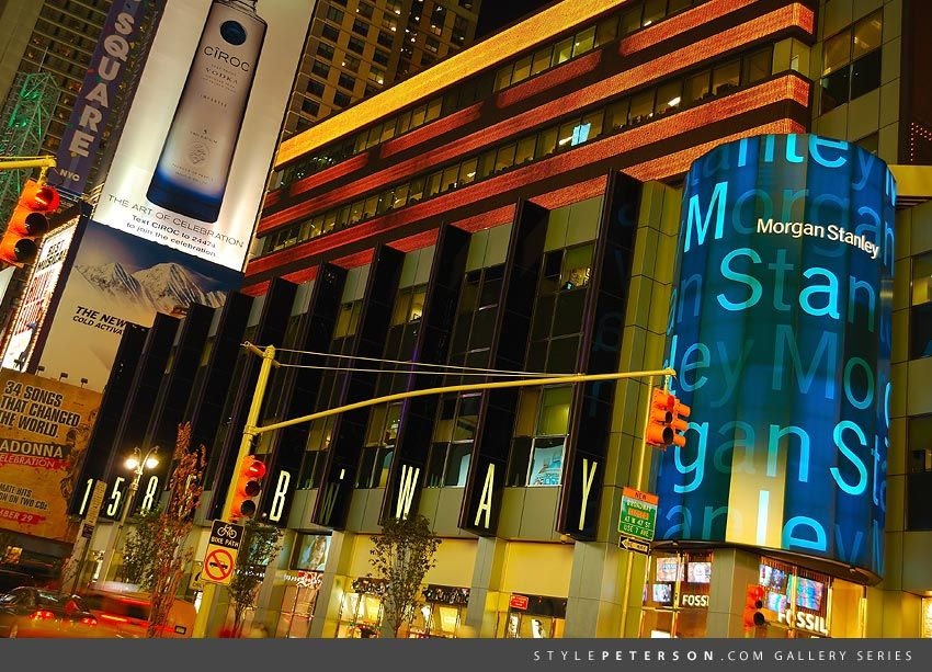 Times Square, NYC, Morgan Stanley Headquarters | Places & Spaces I